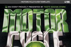 Motorcycle Flyer Template Product Image 6