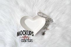 Ring / Jewelry Dish - Heart Shaped - Dollarama MOCK-UP Product Image 1