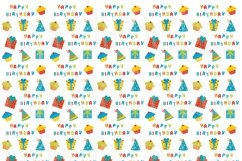 Birthday Clipart and Digital Papers Bundle Product Image 2
