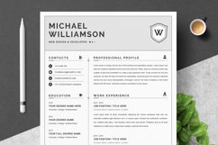 Resume Resume   Clean & Professional Product Image 1