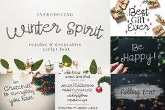 Winter Font Bundle Vol.1 Product Image 3