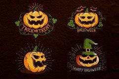 Halloween Retro Pumpkins Product Image 2