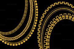 Gold Decorative Frames Clipart Product Image 2