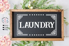 Laundry - Barn - Kitchen - Pantry Cut Files and Sublimation Product Image 3