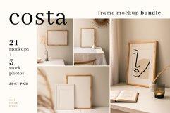 Costa - Frame Mockup Bundle Product Image 1