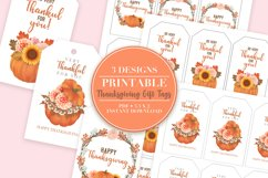 Thanksgiving Printable Gift Tags Product Image 1