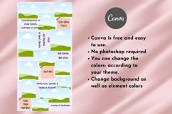 Instagram Puzzle Template Canva- Roseatte Product Image 6