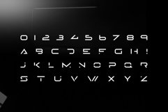Lazer - Modern futuristic scifi font Product Image 3