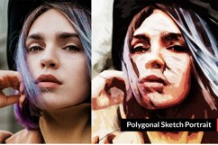 Polygonal Sketch Art PS Action Product Image 3
