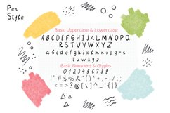 Pencil & Pen Handwritten Font Product Image 2