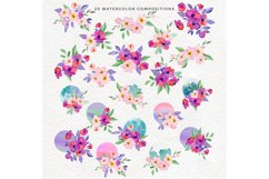 Spring Flowers and Hummingbirds Wanercolor Set Product Image 4