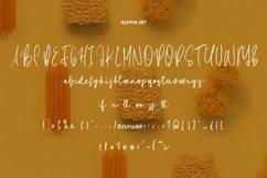 Web Font Spaghetti - SVG Script Font Product Image 5