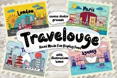Web Font Travelouge Product Image 1