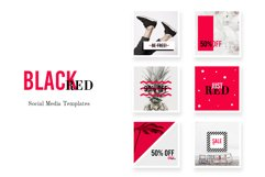 Social Media pack - BlackRed Product Image 1