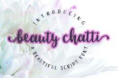 Beauty Chatti Script Font Product Image 1
