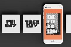 Web Font Blocks - Display Font Product Image 4