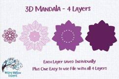 3D Mandala Bundle | 3D Layered Mandala SVG Bundle Product Image 9