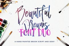 Beautiful Dreams - Font Duo Product Image 1