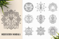 530 Vector Mandala Ornaments Bundle Product Image 7