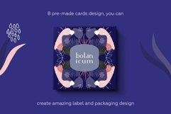 Botanicum. Modern and abstract pattern set. Product Image 3