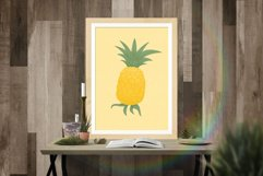 Pineapple hand drawn clip art Product Image 3