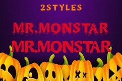 MR.MONSTAR Duo Font & Extras Product Image 2