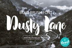 Dusty Lane - Handwritten Brush Font Product Image 1