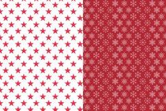 Christmas Digital Paper JPG, Seamless Graphic Product Image 3