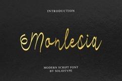 Monlesia Script Product Image 1