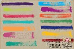 Long Dry Paint Stroke Photoshop Brushes Product Image 2