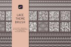 Lace Theme Procreate Brush Bundle Product Image 1