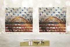 veteran tumbler png Patriotic tumbler design USA flag Product Image 4