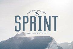 Web Font Sprint Product Image 1