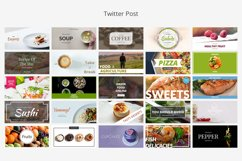 Food Social Media Banners Product Image 6