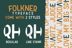 Folkner - Vintage Typeface Product Image 5