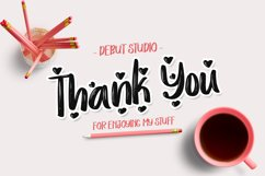 Love Story Font Product Image 6