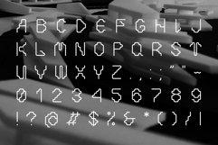 Decorative cyberpunk font Product Image 5