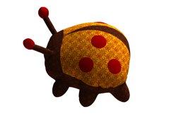 Ladybug PDF Plush Pattern Resizing Product Image 3