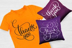 Thank You Calligraphy Lettering Collection Product Image 2
