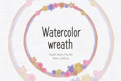 Watercolor frame for sewing Product Image 1