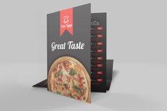 Food Menu Bi-Fold Brochure Product Image 2