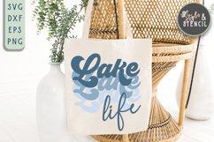 Lake Life SVG   Summer   Retro Shirt   Sublimation Product Image 1