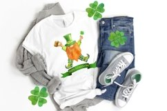 St Patricks Day Gnomes Sublimation designs downloads. Product Image 4