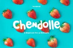 Chendolle - Fun Handwritten Font Product Image 1