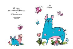French Bulldogs - sticker pack Product Image 5