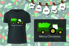 Christmas Truck SVG, Christmas Bug SVG, Christmas Tree Product Image 2