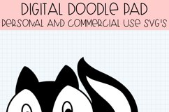 LiL Stinker Skunk SVG Cut Files for Cricut and Silhouette Product Image 3