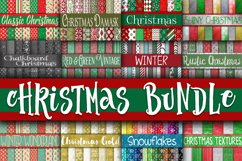 Christmas Bundle - Includes Over 200 Digital Papers Product Image 1
