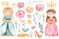 Little princess watercolor Product Image 10