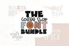 The Coffee Bundle - 6 Fun & Quirky Fonts Product Image 1